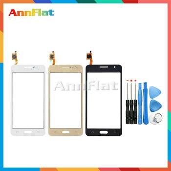 Pour Samsung Galaxy Grand-Premier Duos G530 G530H G530F G5308 G531 G531F Écran Tactile Digitizer Devant L'objectif En Verre Panneau Capteur + outil