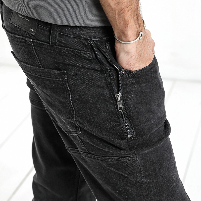 Slim Fit Denim Jeans for Men 3
