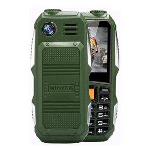 Image 1 - Xeno J1 büyük pil 3800mAh telefon çift SIM GSM darbeye dayanıklı cep telefonu büyük meşale hoparlör kıdemli yaşlı cep telefonu rus SOS