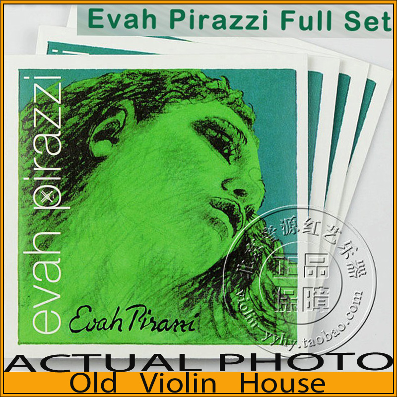 Original,Pirastro Evah Pirazzi violin strings,(419021) full set,Medium with Ball-End,made in Germany,Free shipping free shipping evah pirazzi violin strings full set ball end made in germany for 4 4