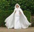 Moda Nupcial Do Casamento Wraps Com Cashmere Fur Manter Quente Coberto Branco e Vermelho Do Vestido de Casamento Wraps