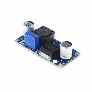 Image 2 - Módulo de reducción de potencia 100 unids/lote LM2596 LM2596S DC DC 1,5 V 35 V módulo de alimentación reductor ajustable envío gratis