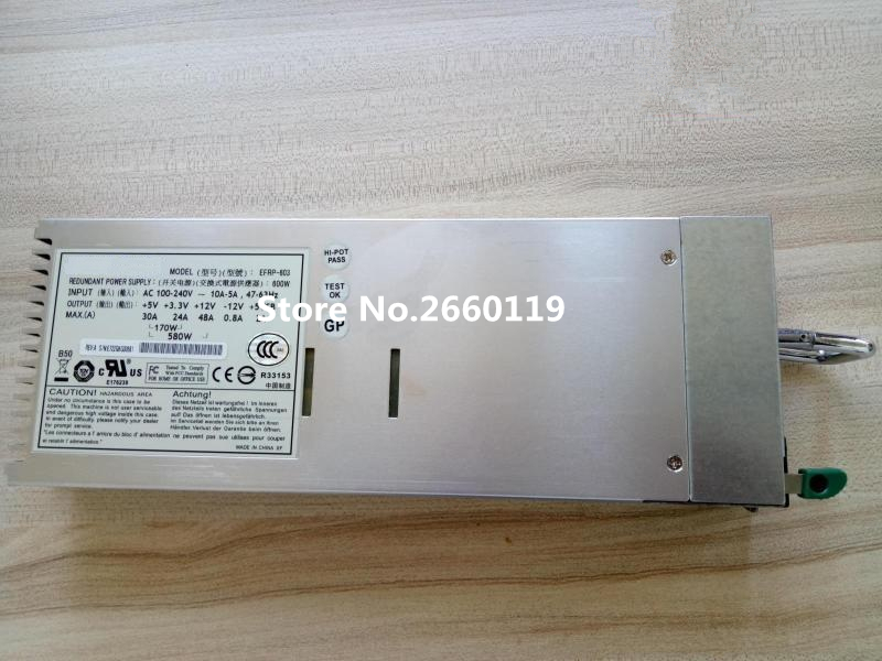 Server power supply for EFRP-603 600W fully tested