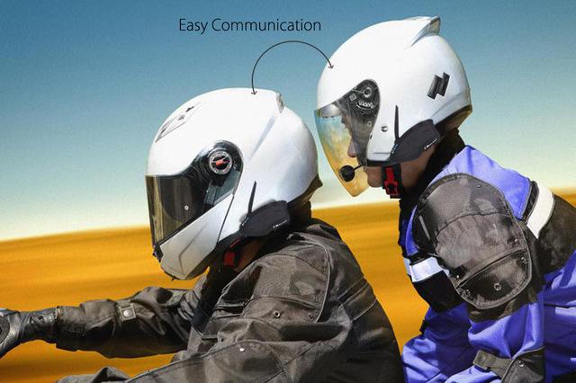 2 Unids/par MIDLAND Enchufe de LA UE Motocycle Intercomunicador Del Casco BTX2 FM Motocicleta Inalámbrica Bluetooth Intercom Headset Bicicletas