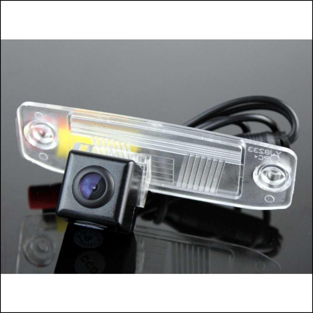 LiisLee samochód widok z tyłu aparatu dla HYUNDAI Accent MC Avante Elantra Terracan Tucson Veracruz ix55 Night Vision wygląd aparat kopii zapasowej
