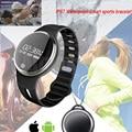 E07 Bluetooth Inteligente Reloj de Pulsera Sana Podómetro Sleep Monitor de Natación Impermeable GPS Tracker Rastro para IOS Android