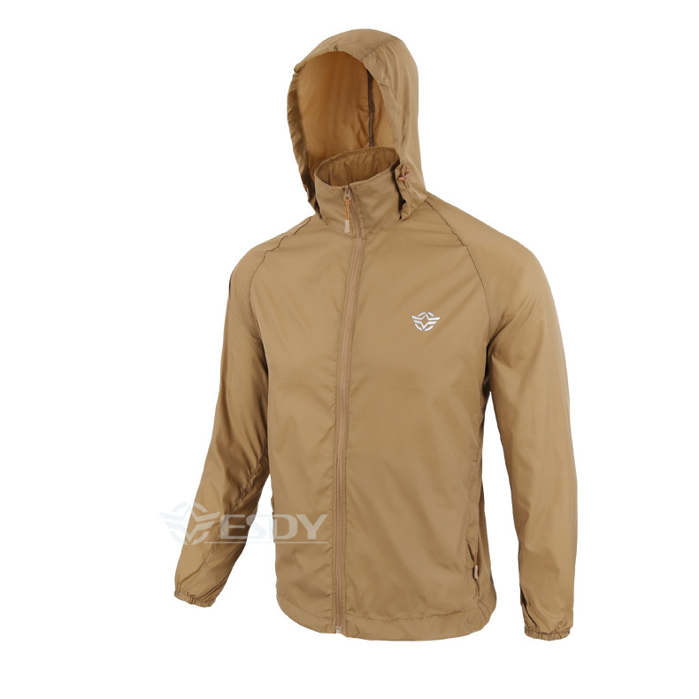 Outdoor Camouflage Skin Dünner UV-Schutzmantel Outdoor-Wanderjacke - Sportbekleidung und Accessoires - Foto 6
