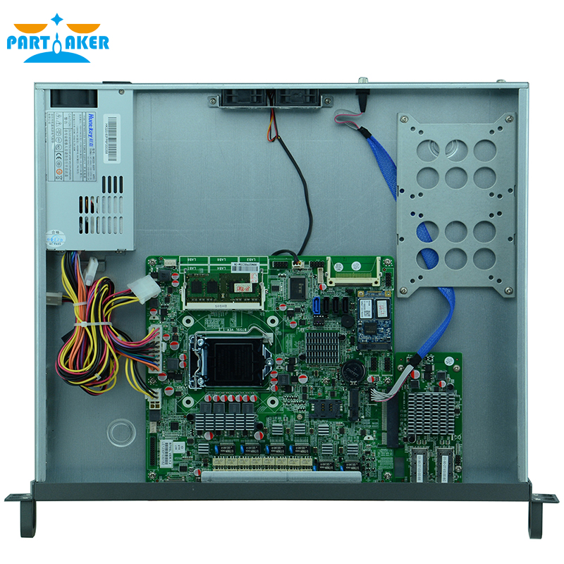 Partaker F9 H67 6 Ports Gigabit Lan 1U Network Server Firewall Appliance With Intel i7 3770 2G RAM 8G SSD
