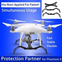 Phantom 4 Camera Gimbal Protective Guard + Heightened Landing Gear Stabilizer Protection Partner of for DJI Phantom 4