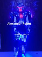 LED Costume robot/LED Clothing/Light suits/ LED Robot suits/ Kryoman robot/ alexander robot