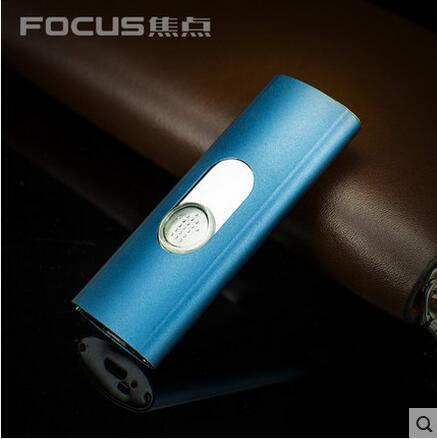 Focus electric arc lighter wind and thin fashion pulse font b electronic b font personality lighter