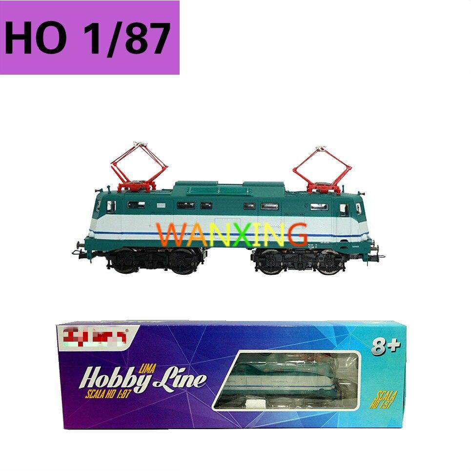 1/87 Ho Train échelle modèle Hornby Lima passe-temps moulé sous pression Locomotive électrique simulé moteur modèle enfants jouet chemin de fer