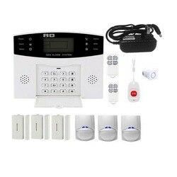 Gsm Wifi Sistema di Allarme Senza Fili Per La Sicurezza Domestica Allarmi di Sicurezza Auto di Allarme Domestico Casa di Fuga Stanza Residenziale di Allarme Portachiavi