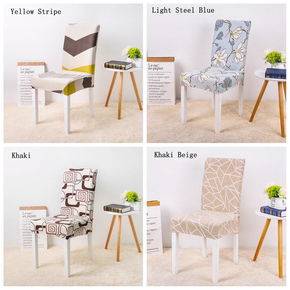 Khaki Beige chair cover 1