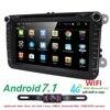 2 Din Android 6 0 Car Multimedia Player Fit Volkswagen Vw Skoda Yeti Golt Polo Passat