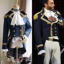 Военный костюм для косплея в стиле колоний гамилтон, готический костюм аристократа, военная куртка