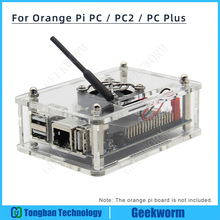 Oranje Pi Pc/PC2/Pc Plus Acryl Case + Koelventilator + Koellichaam Beginner Kit Compatibel W/Oranje Pi
