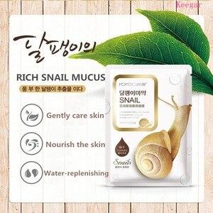 Image 5 - Bioaqua Sheet Mask Snail Essence Facial Mask Skin Care Face Mask Remove blackheads Hydrating Moisturizing Mask korean skin care