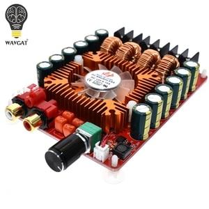 Image 4 - Wavgat tda7498e 2x160w btl220w mono potência amplificador estéreo digital amp board duplo canal de áudio