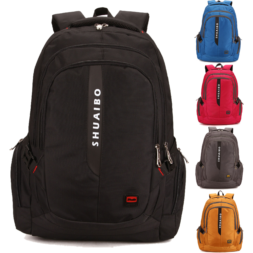 15 15.6 17 17.3 Inch Polyester Laptop Notebook Sports Climbing Mountaineer Outdoor Backpack Bags Case Backpack for Men Women