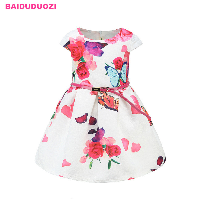 Summer Brand 2018 Princess Girl Dress Red Kids Clothes Dresses for Girl Children Clothing Teenager Party Costumes9 10 11 12 Year baby girls white dresses for wedding and party wear girl princess dress kids lace clothes children costume age 3 4 5 6 7 8 9 10