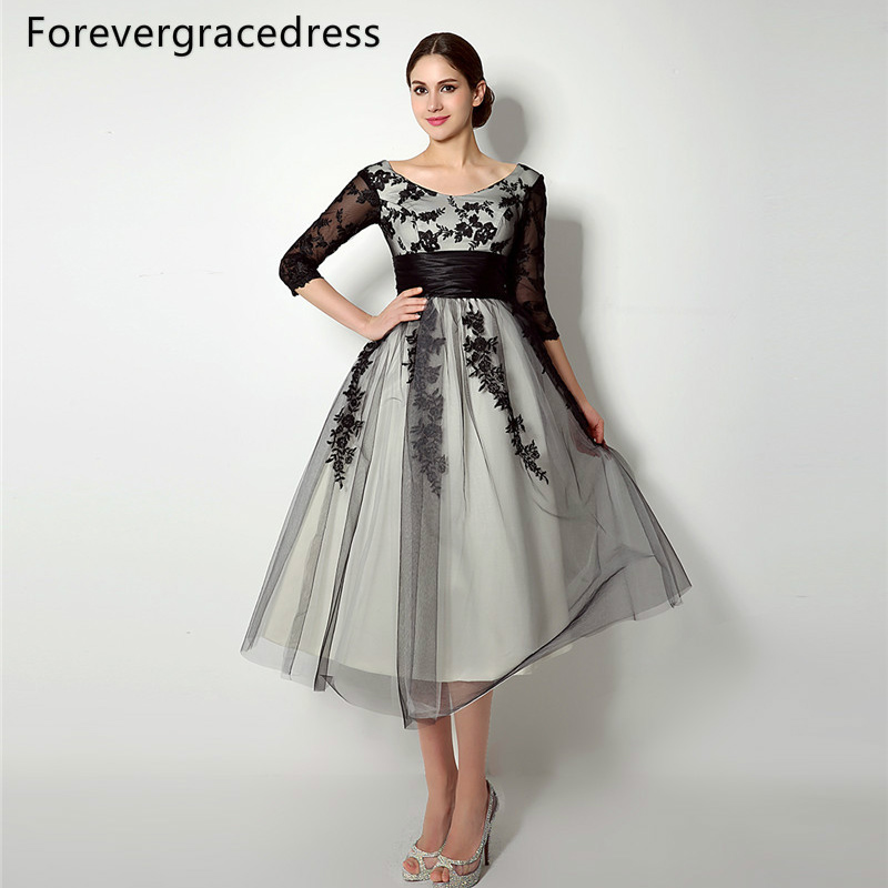Plus Size Short Wedding Dresses.Us 87 68 36 Off Forevergracedress Vintage Lace Up Back Mother Of The Bride Dress Tea Length Short Wedding Party Gown Plus Size Custom Made In Mother