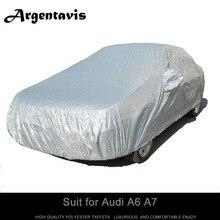 Limousine Auto styling abdeckung anzug für Audi A6 A7 sonnenschirm wasserdicht staubdicht anti-uv-vollformat-mode schutz