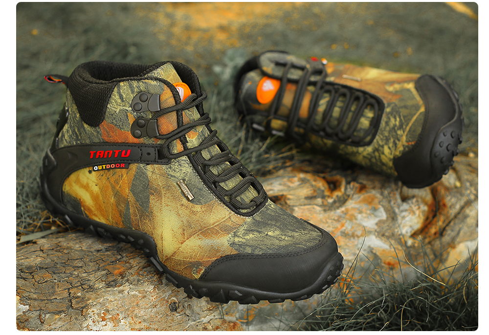 Outdoor Camouflage Tactical Sport Men\`s Shoes (22)