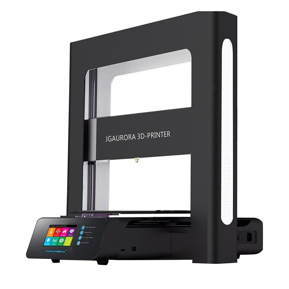 Оригинальный JGAURORA A5 обновленный мини 3D-принтеры 305*305*320 мм DIY ж/305*305*320 мм области печати печатная машина Поддержка SD карты