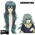 SHENGMEIYUAN 80CM High Quality  Sen Takatsuki Eto Wig Tokyo Ghoul Cosplay Wigs Gradient Color Sexy Synthetic Anime Hair Wigs