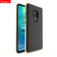 все цены на for Huawei Mate 20 Case IPAKY Mate 20X PC Bumper Silicone Soft Back 2 in 1 Hybrid Shockproof Armor for Huawei Mate 20 Pro Case онлайн