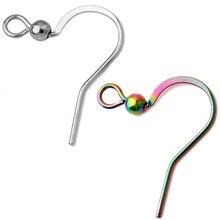 2019 Stainless Steel Earring Findings Ear Hook Clasps Hooks Not Allergic  DIY Fashion Jewelry Earwire Accessories