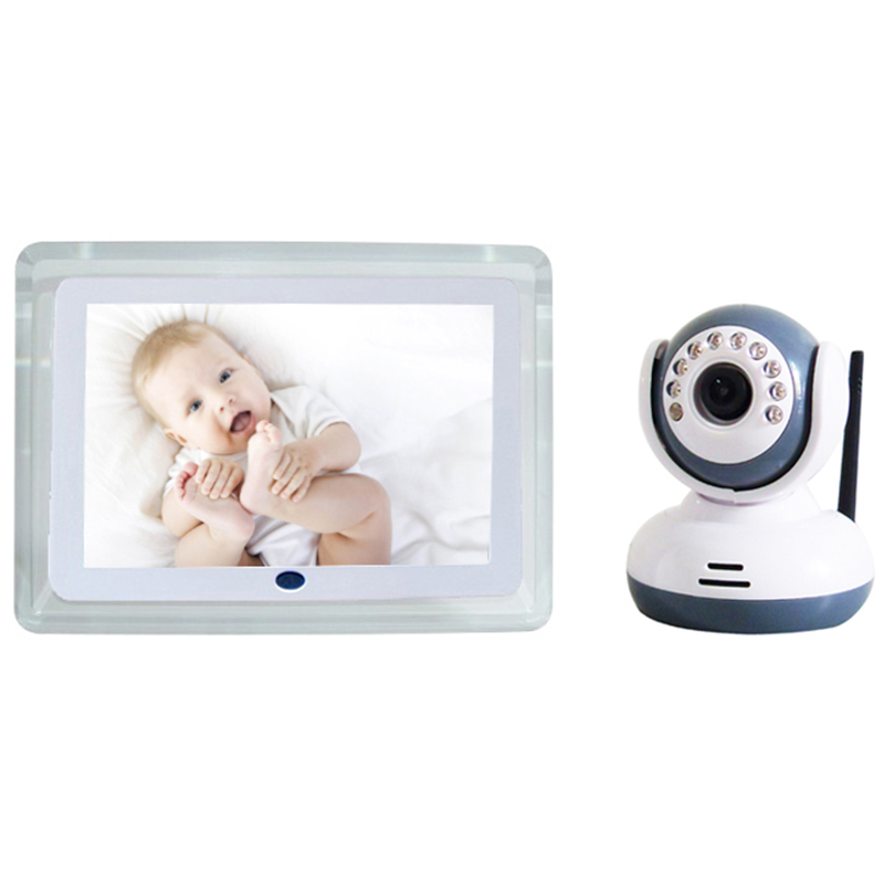 Baby Monitor Wireless Digital Babies Monitors 7inch LCD Receiveer + Night Vision Camera Video 2-Way Talkback 4 Channels Monitor wireless 7inch lcd monitor