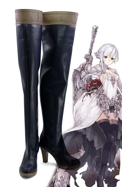 SINoALICE Snow White Cosplay Game boots Shoes Halloween Carnival ...