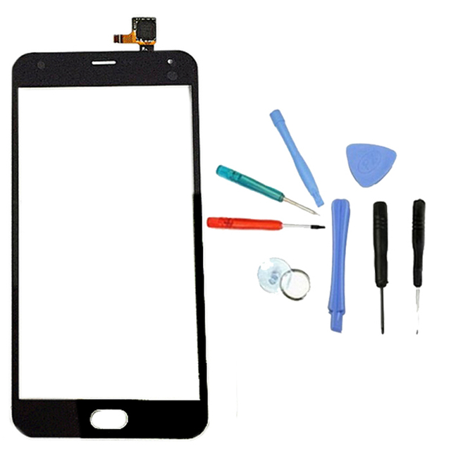 LINGWUZHE Digitizer For Meizu M2 Note Noblue Note 2 Touch Screen Replacement Front Glass Outer Lens Black
