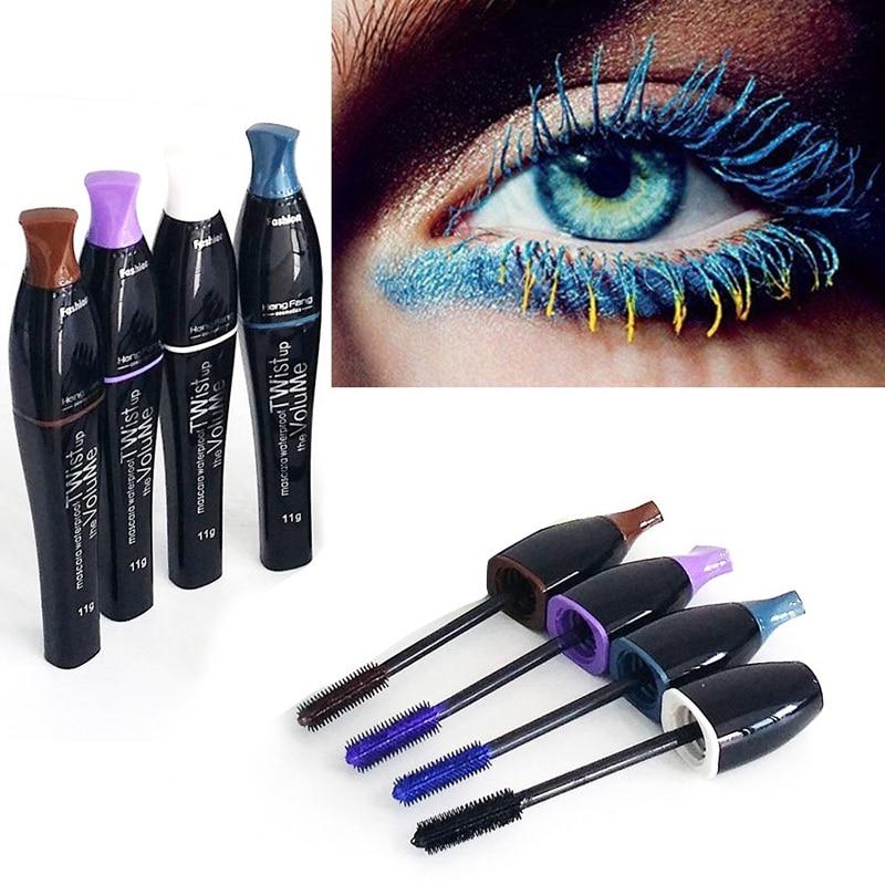00e4d3aca7f 2016 Neverland Wonderful Volume Colourist Mascara Long Curling Beauty  Eyelash Waterproof Mascara Eye Lashes Blue Black Color-in Mascara from  Beauty & Health ...