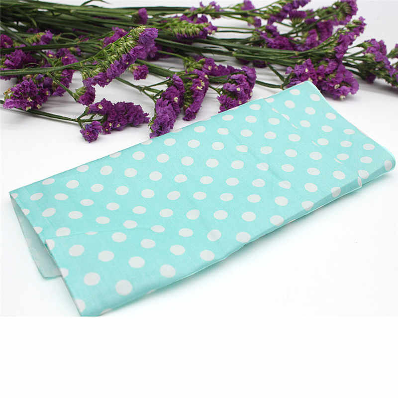 Floral Plaid Fabric Cotton For Sewing Patchwork Wallet Purse Doll Bed Fabrics  Dropshipping Mar01