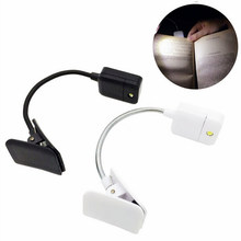 Reading Light LED Book Light Table Lamp Desk Lamp Mini Flexible Clip On Book For Kindle For Notebook DC6V(China)