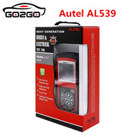 Autel AutoLink AL539 NEXT GENERATION OBD2+Electrical Test Tool Auto Link AL 539 Internet Update Multilingual menu