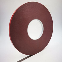 Super Strong Self Adhesive Car sealing strip 3Mx10mm Auto Acrylic Foam Double Sided Attachment Tape Mobile phone dust-proof tape цена и фото