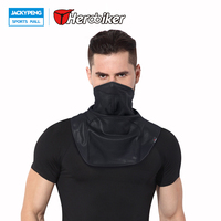 HEROBIKER Windproof Cool Cycling Mask Training Mask Outdoor Winter Warm Dust Proof Half Face Mask Bisiklet Maskesi Face Shield