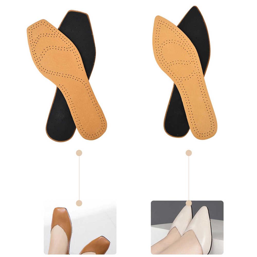 Sunvo Kadın Tabanlık Bayanlar için Düz Kafa Ucu Kafası Yüksek Topuklu Çizmeler Ultra Ince Domuz Derisi ayakkabı pedi Rahat Ekler Tabanı