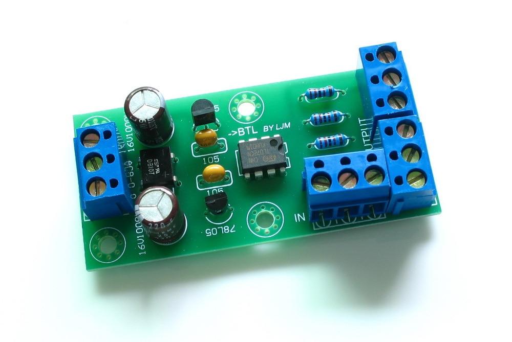Consumer Electronics Stereo Audio BTL to XLR Balance ...