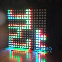 Упаковка из 6 оптовая продажа из Китая светодиодный COB гамма матрица Мощность шайба 16x30 Вт видео светодиодный DMX лазер диско DJ звуковое обору