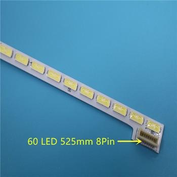 New 50 PCS/lot 60LEDs 525mm LED backlight strip bar for TV LG Innotek 42Inch 7030PKG 60ea Rev0.2 type 100%new 8 pcs set 4a 4b led backlight bar for tv hc390dun vcfp1 21x 39ln5400 39la6200 lg innotek pola 2 0 pola2 0 39a b type