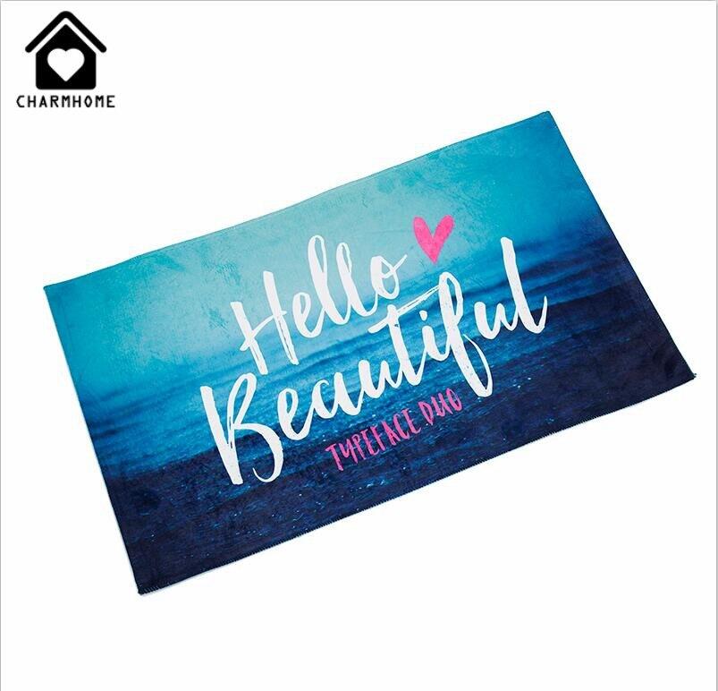 Aliexpress Buy Charmhome Black Doormat Martin Symbol Door Mat