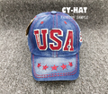 New USA Letter Kids Children Hip-hop Snapback Adjustable Baseball Caps Hats For Boys&girls Unisex