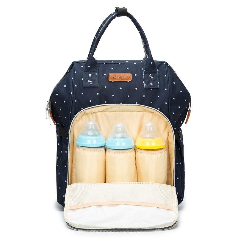 Пеленки сумки Мумия для беременных Пеленальный мешок большой емкости Детские путешествия рюкзак многофункциональный пеленки Организатор ...