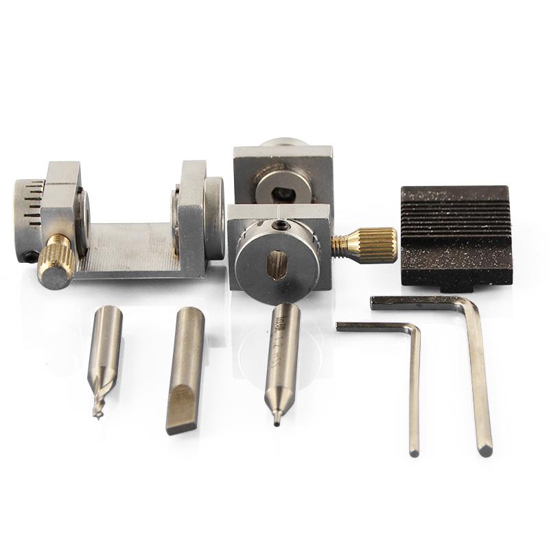 GHIXACTO 1 Set Key Machine Clamping Chuck Key Cutting Machine Clamping Tools Locksmith Accessories for Key Cutting MachineGHIXACTO 1 Set Key Machine Clamping Chuck Key Cutting Machine Clamping Tools Locksmith Accessories for Key Cutting Machine