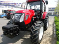Large Farm Tractor With Power Of 130hp